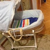Кроватка колыбель mothercare для новорожденных