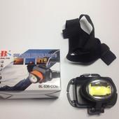 Яркий налобный фонарь светодиодный BL-536