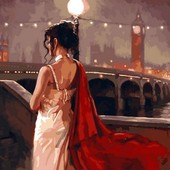 Картина по номерам Turbo Винтажный Лондон VP546
