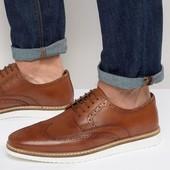 ASOS Мужские туфли мокасины 100% кожа 46 р