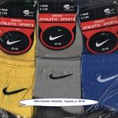 Носки мужские Nike Athletic Climalite, 40-46 р., деми, х/б, средние, цветное ассорти