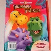 Мои друзья динозаврики на английском языке