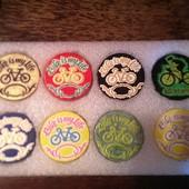 Оригинальные магнитики для велолюбителей