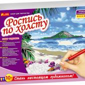 Роспись по холсту Тропический рай 15129032Р Ранок креатив рисование