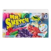 Mr. Sketch scented markers, chisel tip, assorted colors, 12-Count Ароматизированные фломастеры