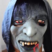 Маска резиновая карнавальная маскарадная Ужасная на Хеллоувин