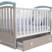 Детская кроватка Верес Соня ЛД6 маятник. Доставка бесплатно.