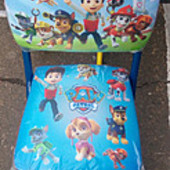 Раскладной детский стул на металлических ножках щенячий патруль, тачки, Литл пони, Маша, Фиксики