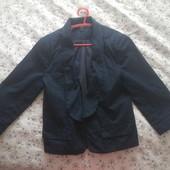 Vero moda темно- синий пиджак р 38