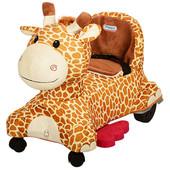 Детский электромобиль Жираф M 3160 плюшевый
