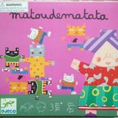 Игра балансир от Djeco Matoudematata Бабушка и коты