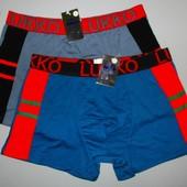 Трусы мужские боксеры Lukko xl и 3xl