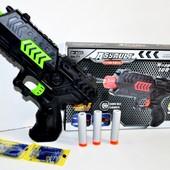 Пистолет T1 с гелевыми пулями и присосками