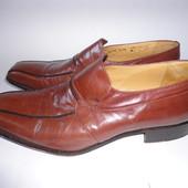 Кожаные туфли Италия  р.41,5