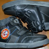 Ботинки деми на мальчика 34,35 размер