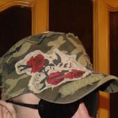 Стильная фирменная кепка милитари.56-58.Унисекс .