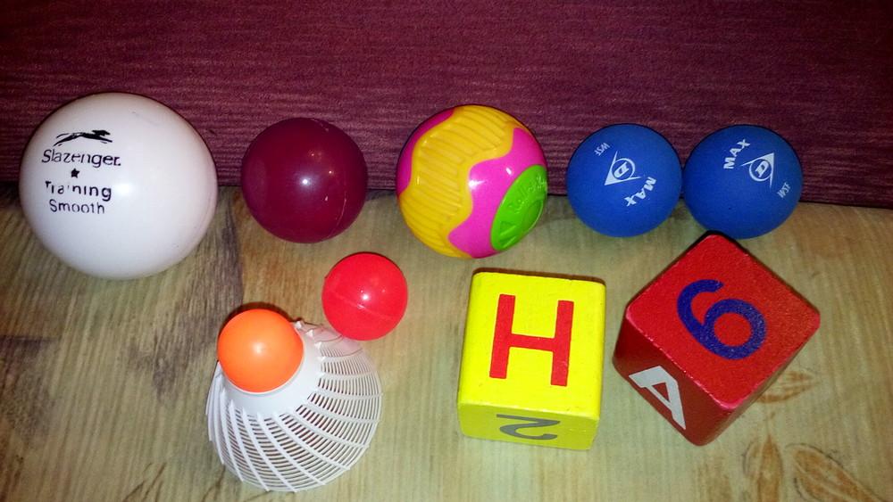 Кубик мячик фото №1