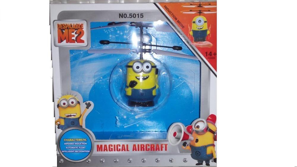 Миньон-вертолет, который летает фото №1
