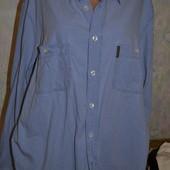 рубашка джинсвая 54-56р