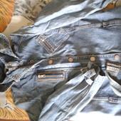 куртка Mango джинс р.M