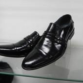 Кожаные туфли 40,41 разм.