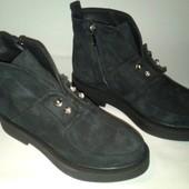 Акция!!! Зимние Замшевые Ботинки 37 размера Натуральная замша