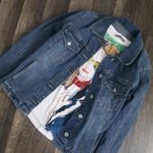 куртка джинсовая Clockhouse р.36S