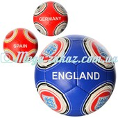 Мяч футбольный Contries №5: 3 цвета, 32 панели