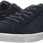 Синие замшевые кроссовки кеды бренд Calvin Klein р. 42