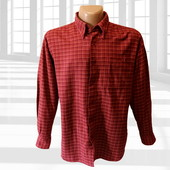 Фланелевая рубашка в клетку р.L/XL Harvie & Crosbie