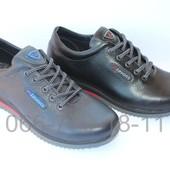 Комфортные мужские туфли, 2 цвета