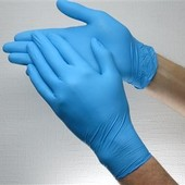 Нитриловые перчатки Blue. Супер- прочные!