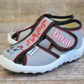 Новинка! Качественные Детские текстильные тапочки обувь Waldi купить недорого