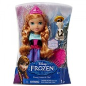 Кукла Jakks Disney Princess Frozen Анна 15 см,в наличии!