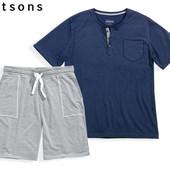Летний набор футболка и шорты Watsons размер 60, XXXL домашняя одежда