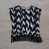 Самый модный топ футболка с бахрамой из СШа
