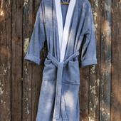 Халат махровый Deco Bianca - 52003 V1 mavi голубой