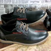 Мужские туфли, толстая качественная кожа, полиуретановая подошва. Удобная колодка и стильный вид