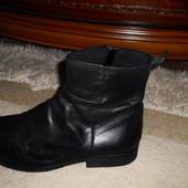 Супер-стильные мягкие бренд. ботинки Next,Кожа,Португалия