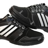 40 и 43 р Мужские кроссовки в стиле Adidas демисезонные (Ю-43)