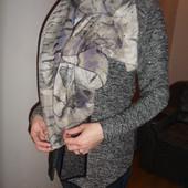 большой шарф с камушками