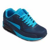Женские кроссовки синего цвета