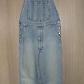 комбинезон джинсовый размер 48