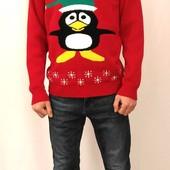 832 Новогодний свитер с пингвином Kingston