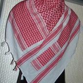 Стильная фирменная платок Арафатка оригинал Єгипет .105 на 110 см