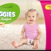 Huggies Ultra Comfort для девочки р-р 4, 59 шт памперсы подгузники ультра комфорт
