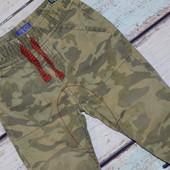 Стильные джинсы маленькому моднику. р. 80-86, на резинке, штаны, стильные, хаки, защитные, недорого