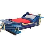 KidKraft Детская кроватка Самолет для мальчика airplane toddler bed 76277