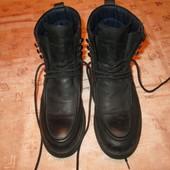 Navyboot Швейцария 26 см. стелька ботинки кожаные на шнуровке