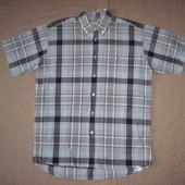 Lacoste (39/L) рубашка мужская натуральная